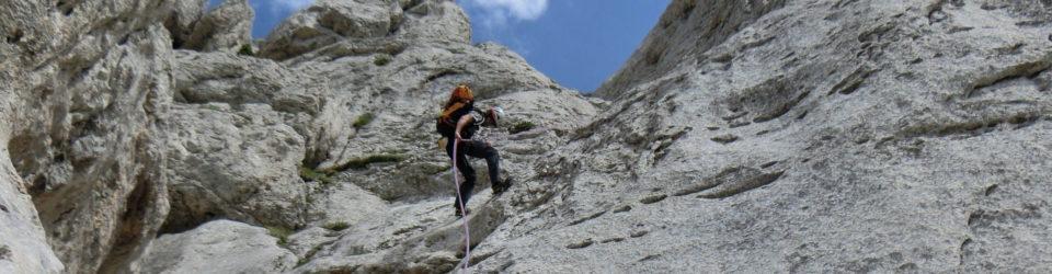 Descente du Mont Aiguille