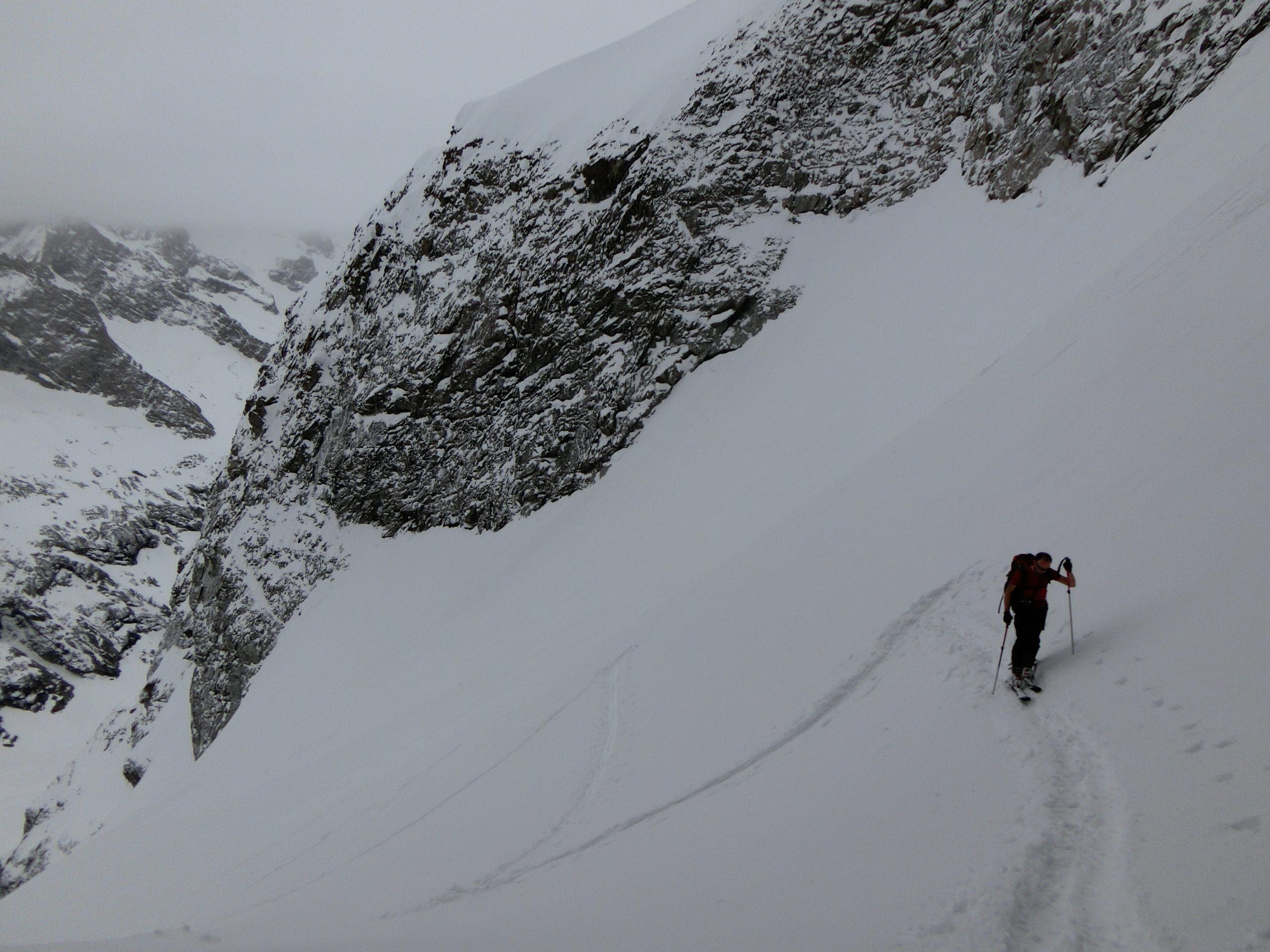 Montée en ski de randonnée