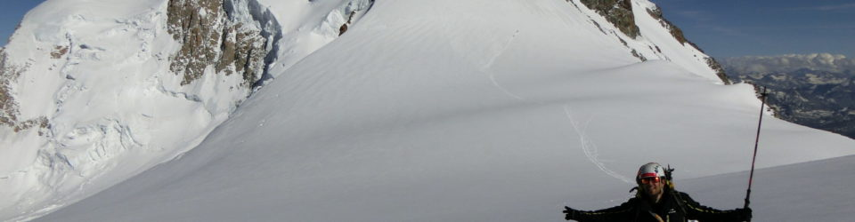 La descente du Mont Blanc