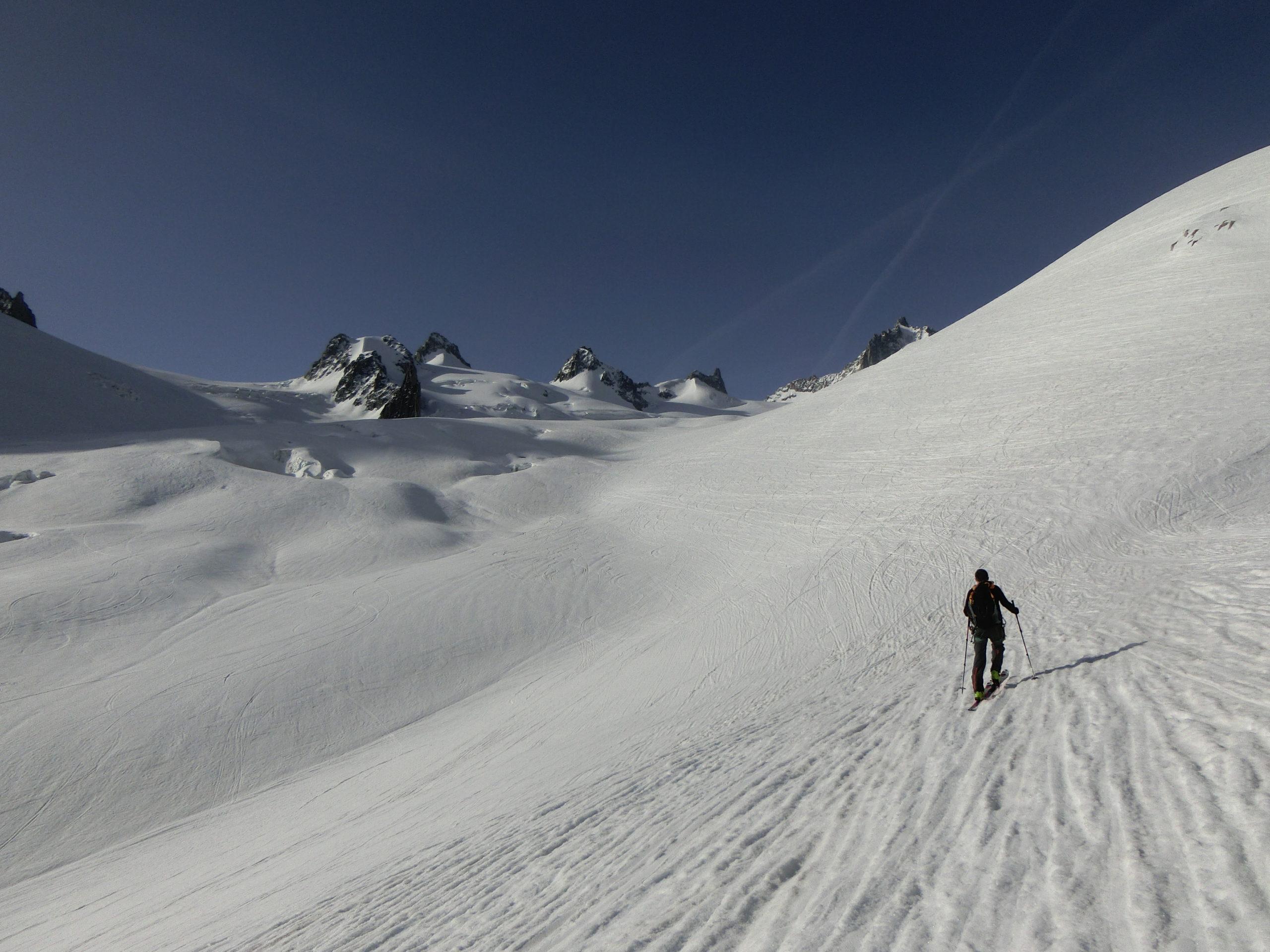 Dans la Vallée Blanche