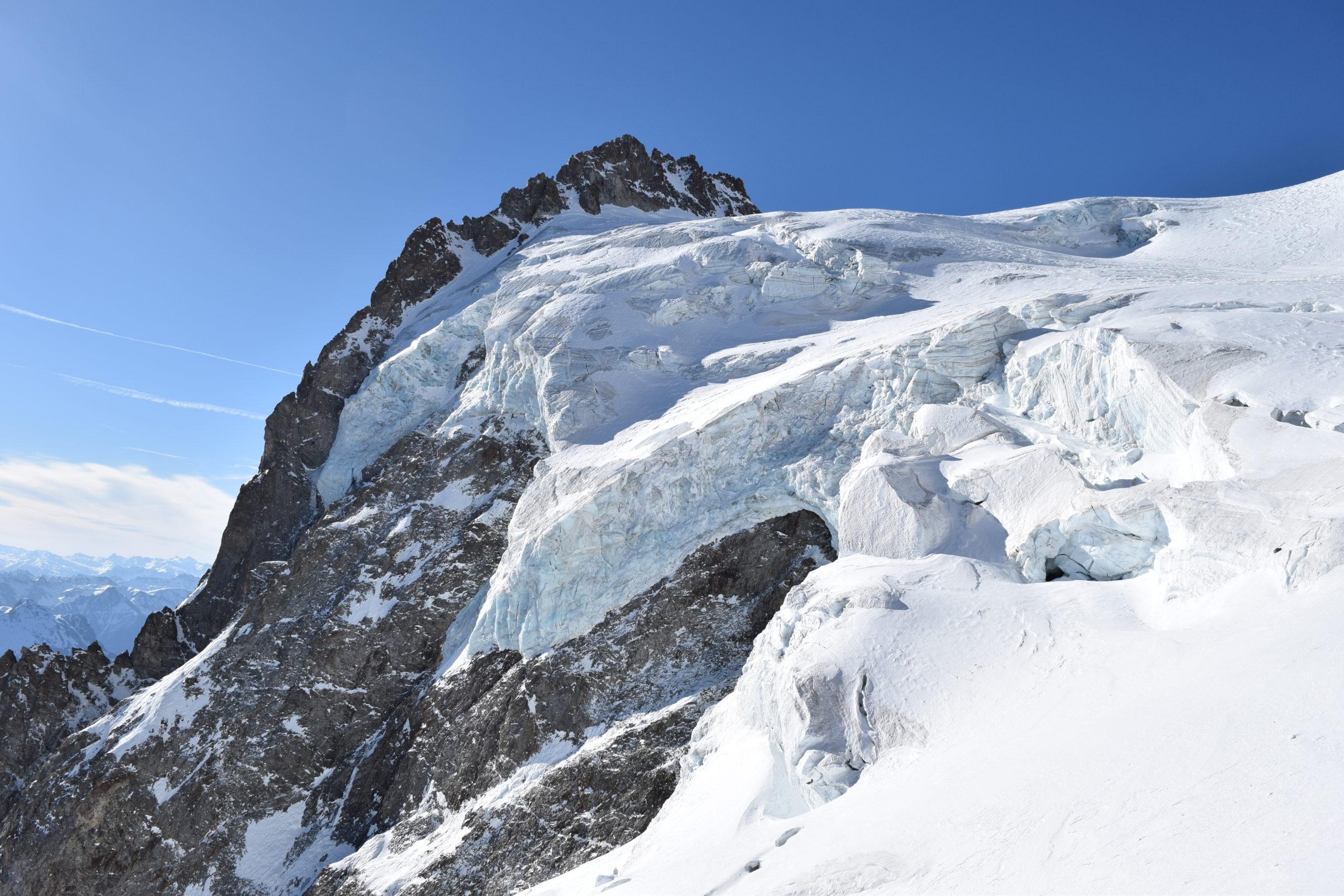 Le glacier des Violettes